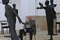 Sáhněte si na sochy Olbrama Zoubka. V Galerii sv. Jakuba