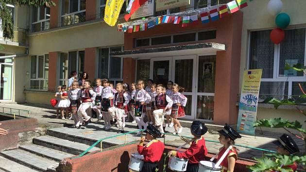 Salon republiky reprezentoval české školství.