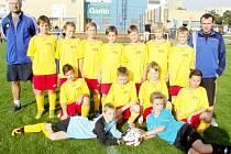 Výběr fotbalistů OFS Hradec Králové U12.