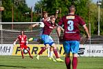 Fotbalová příprava: FC Hradec Králové - FK Náchod.