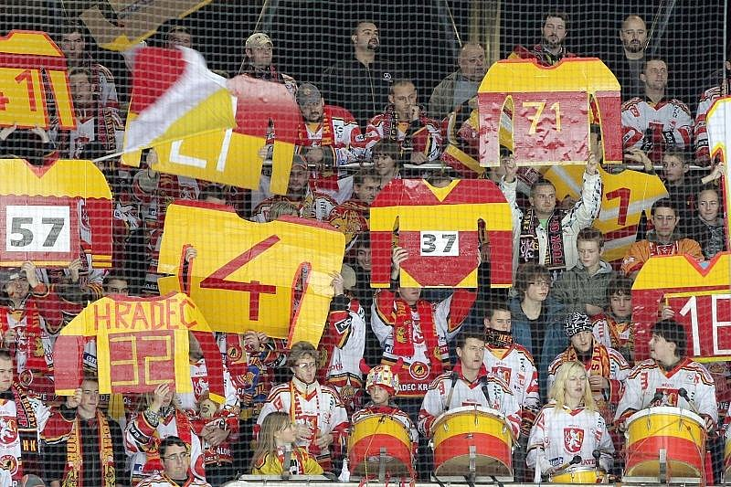 I. hokejová liga: HC VCES Hradec Králové - HC Vrchlabí 5:4 pp (pátek 27. listopadu 2009)