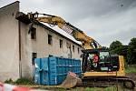 Zahájení prací na stavbě domu odlehčovací služby Honkova v Hradci Králové.