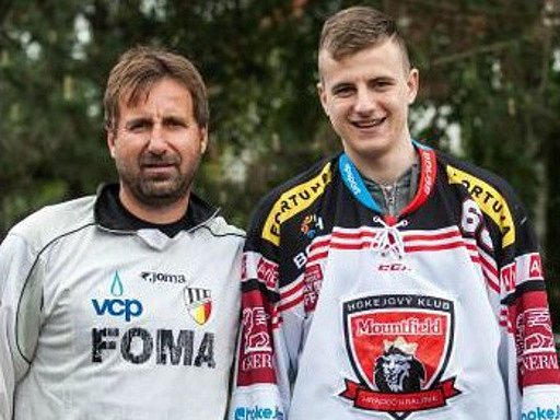 Otec a syn - Jaroslav a Jaroslav Dvořákovi.