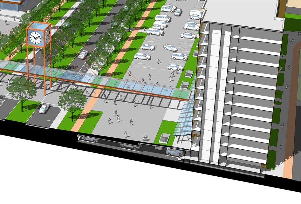 Studie rekonstrukce Benešovy třídy HK,  AP Studio + Žárovka architekti