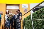 Nově otevřená škola po kompletní rekonstrukci v Praseku u Nového Bydžova