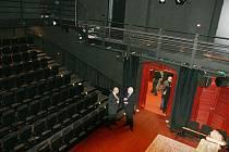 Studio Beseda, opravená druhá scéna Klicperova divadla.