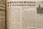 Pochodeň z 24. listopadu 1989.