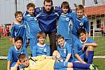 Fotbalový turnaj starších přípravek O pohár kapitána na Novém Hradci Králové - Kolín.
