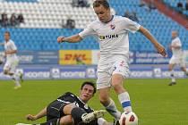 Fotbal, Baník Ostrava - FC Hradec Králové 1:0. Sobota 18. září 2010