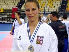 Radka Krejčová, SK Karate Spartak Hradec Králové.