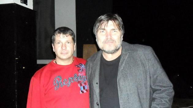 Zleva Miroslav Pácha a Roman Horký.