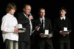 """Město ocenilo mládež za výsledky dosažené v roce 2010. """"Naděje královéhradeckého sportu"""" byly vyhlášeny v kategoriích jednotlivců a kolektivů."""