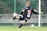 Zápas divize C FC Hradec Králové B - FK Pardubice.