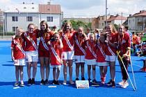 I. International May Youth Hockey Tournament - klání pozemních hokejistů kategorie U10 v Hradci Králové.