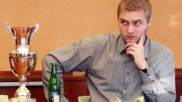 Automobilový závodník Michal Matějovský.