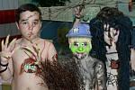 Nudistické čarodějnice v akvacentru HK