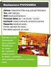 Restaurace PIVOVARKA, Pardubice