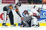 Hokejová extraliga: Mountfield HK - HC Sparta Praha.