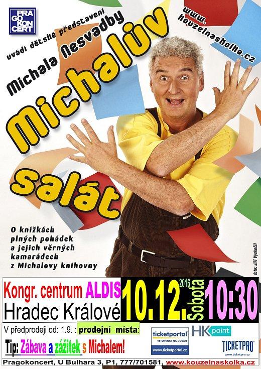 Michal Nesvadba a jeho představení.