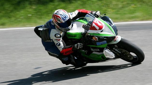 Královéhradecký motocyklový závodník Patrik Vostárek z Montáže Brož Racing Teamu.