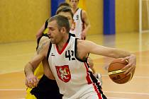 Basketbalová I. liga mužů - čtvrtfinále play off: Sokol Pražské Předměstí Hradec Králové 2 – BC Vysočina Jihlava.