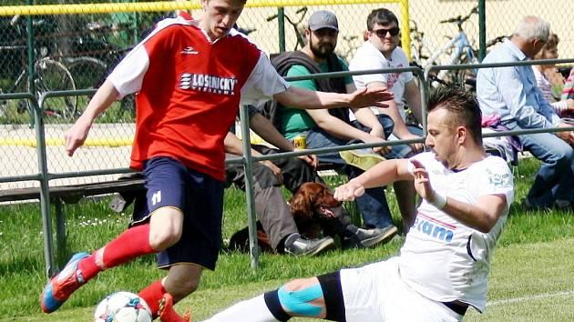 Krajský přebor ve fotbale: TJ Sokol Kratonohy - MFK Nové Město nad Metují.