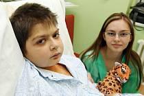 Ne všechny děti mohly být na Vánoce se svými rodiči či sourozenci. Některé z nich chtě nechtě musely strávit letošní svátky v hradecké fakultní nemocnici.