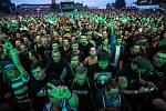 Z festivalu Rock for People: In Flames.
