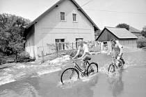 Povodně na Královéhradecku 1998, Blešno