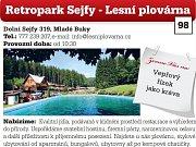 Retropark Sejfy - Lesní plovárna