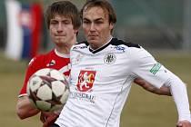 Fotbalová příprava: FC Hradec Králové - FK Pardubice.