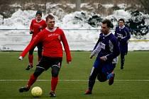 Fotbalová příprava: Náchod - Lhota pod Libčany.