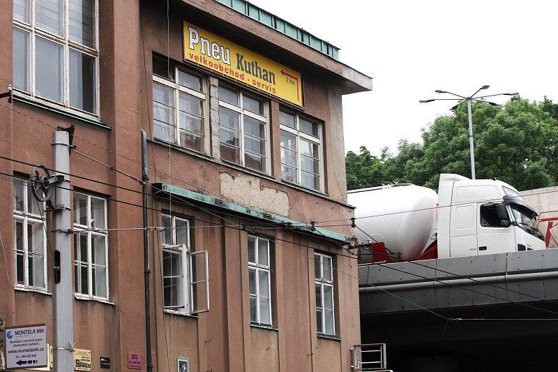 Někdejší Pilnáčkova továrna na Pospíšilově třídě