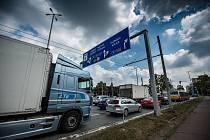 zahájení rekostrukce křižovatky na ulici Brněnská v Hradci Králové