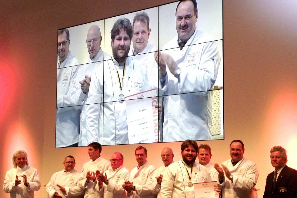 Hradečtí na kuchařské soutěži v německém Stuttgartu.