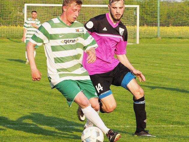 Okresní přebor ve fotbale: Probluz - Kunčice B.