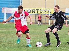 Fotbalový okresní přebor: Třebeš B - Slavia Hradec Králové B.