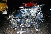 Dopravní nehoda na příjezdu do Hradce Králové od Jaroměře
