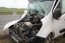 Dopravní nehoda u Černožic