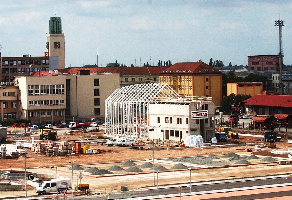 Výstavba hradeckého terminálu