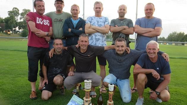Vítězný tým Bývalé fotbalové hvězdy