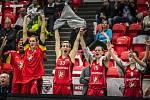 Radost hradeckých basketbalistek.