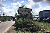 Tornádo zasáhlo i Hodonín