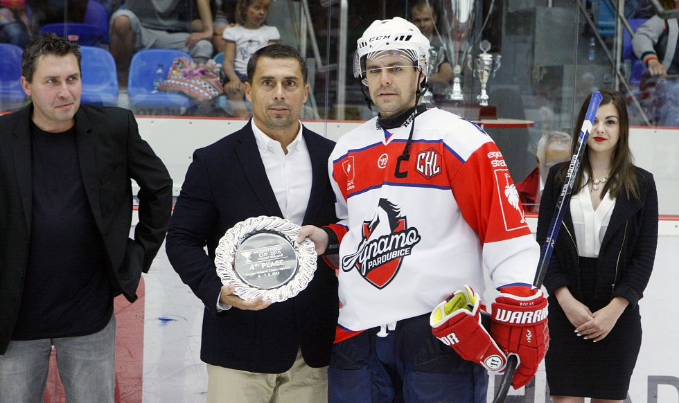 Mountfield Cup - turnaj v ledním hokeji: Mountfield HK - HC Dynamo Pardubice.