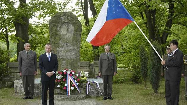 Pietní akt ve Vysoké nad Labem