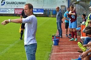 Fotbalový trenér Michal Šmarda.