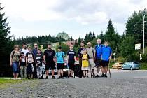 Letní soustředění členů kroužku RC Auta při DDM Třebechovice pod Orebem v Trčkově.
