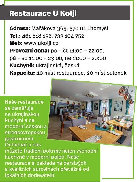 Restaurace UKolji, Litomyšl