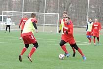 Fotbalová příprava: SK Převýšov - TJ Dvůr Králové nad Labem.