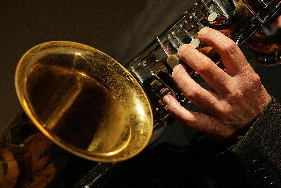 15. ročník mezinárodního jazzového festivalu Jazz Goes to Town: Na snímku Traditional Jazz Studio Pavla Smetáčka v Muzeu východních Čech.